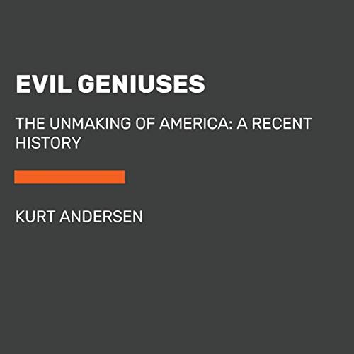 Evil Geniuses audiobook cover art