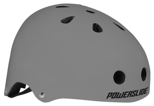 Powerslide Helm Allround, Grau, S/M (55-58 cm)