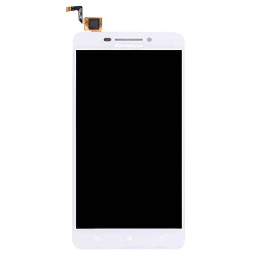 Zhangli Mobile Phone LCD Screen LCD Screen and Digitizer Full Assembly for Lenovo A5000 (Black) LCD Screen (Color : White)