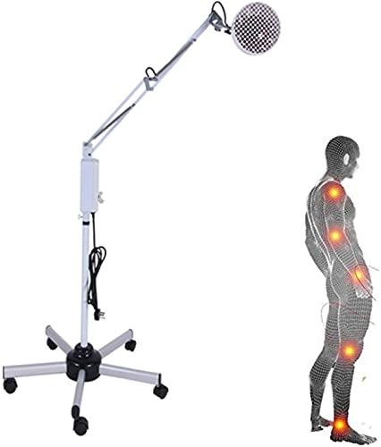 HTDHS Aparatos de Fisioterapia de Infrarrojos de Infrarrojos de TDP del hogar, lámpara de Hornear Vertical terapéutica para Promover la circulación sanguínea
