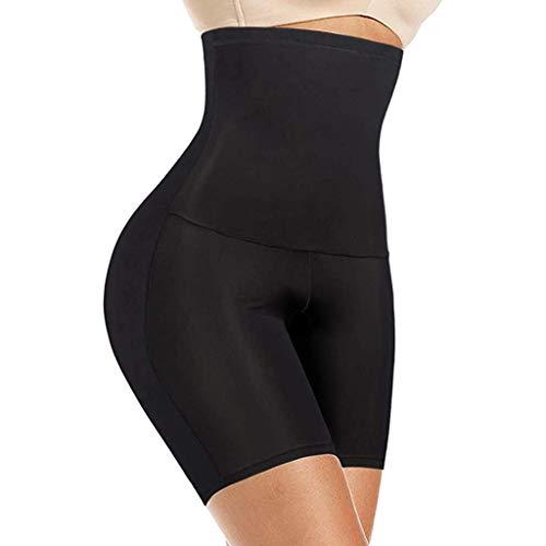 Faja para el vientre posterior al embarazo para mujeres más tamaño Padde'd Bragas Potenciador de glúteos - 2 piezas (color: negro, tamaño: XXL) JoinBuy.R