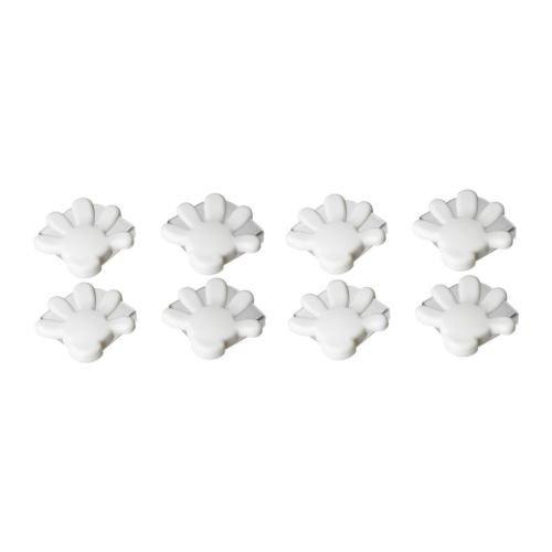 Ikea PATRULL Eckschutz in weiß; 8 Stück
