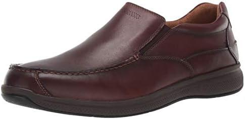 Florsheim Men s Ontario Moc Toe Slip On Loafer Brown 9 5 product image