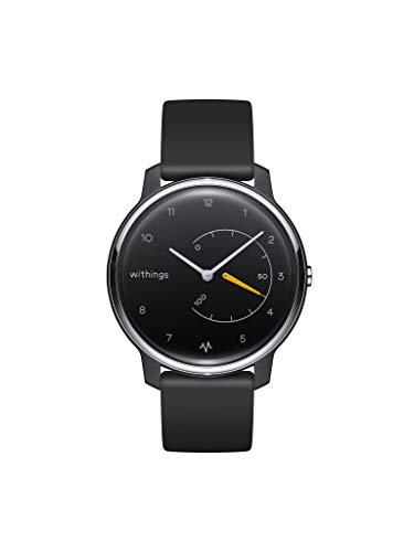 Withings Move - Reloj híbrido inteligente con ECG, color negro
