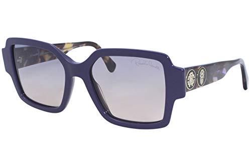 Gafas de sol Roberto Cavalli RC 1130 81W Azul Brillante, Violeta Habana/Gr. Azul A P