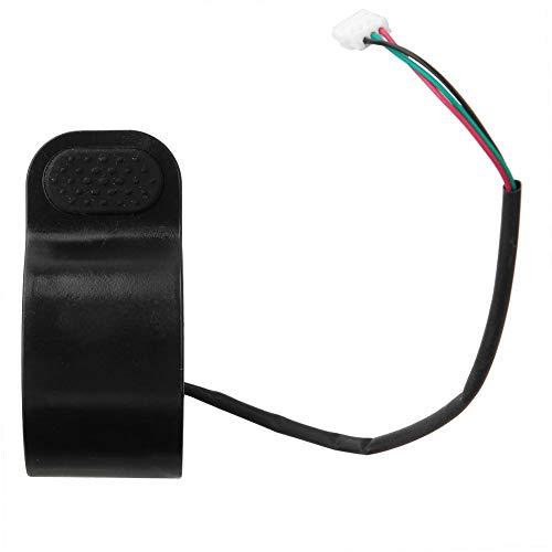 Jadeshay Acelerador de Scooter - Control Universal de Velocidad del Acelerador del Pulgar - Compatible con Scooter eléctrico Xiaomi M365