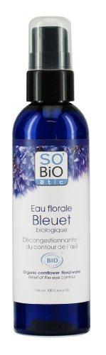 Eau florale bleuet, So'Bio Étic