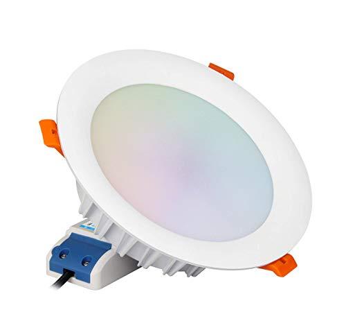 Kingled - MiBoxer FUT065 RGB + CCT Deckenleuchte LED-Einbaustrahler 18W Multicolor RGB und Dual White 2,4 GHz Loch 150 mm Mi Light® Cod 3374