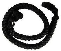 Mehron Crepe Hair 12-inch Braid (Black)