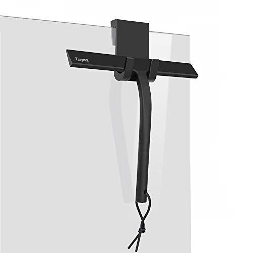 IARTISTE Duschabzieher Silikon Duschwischer Fensterabzieher Badezimmerwischer,Fensterabzieher aus Silikon Griff mit Loch und Seil für Dusche,Badezimmer,Spiegel,Glas-Reinigung,Fliesen