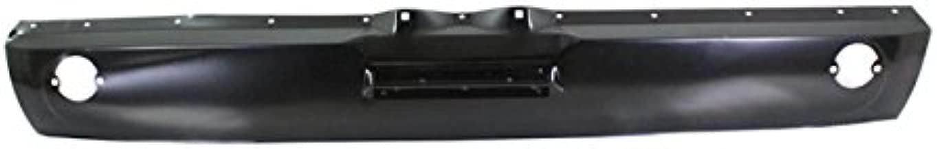 Partomotive For 69-70 Mustang Rear Bumper Lower Spoiler Valance Air Dam Deflector Apron Panel