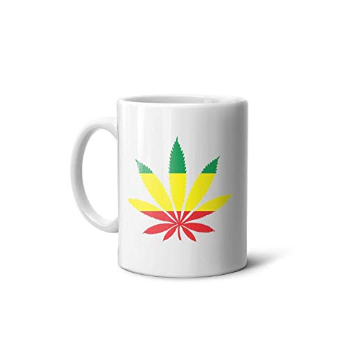 Marijuana Leaf Weed Cannabis2Fun Coffee Mug Mug Christmas Creative Funny Birthday Gift Ladies Men and Women Husband and…