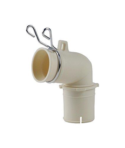 カクダイ 洗濯機用排水トラップエルボ φ31ミリ φ36ミリ 兼用 バンド付 437-202