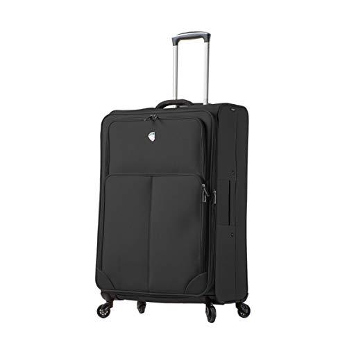 Mia Toro Italy Leggero Softside 28 Inch Spinner Luggage Suitcase, 84 cm, Black