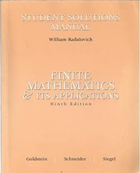 Finite Math and Its Applications: Student's Solutions Manual 013187392X Book Cover