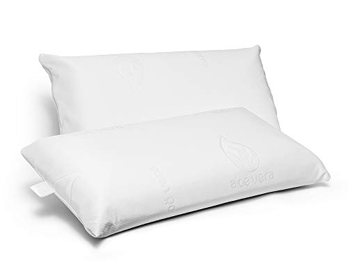 Almohada almohadas viscoelastica o fibra tacto ultra suave top ventas