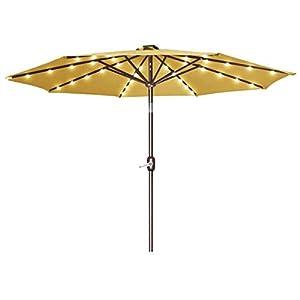 Strong Camel 9 New Solar 40 Led Lights Patio Umbrella