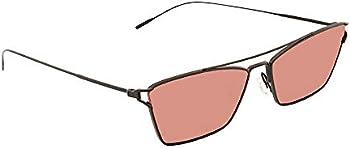 Oliver Peoples Evey Damson Rectangular Ladies Sunglasses