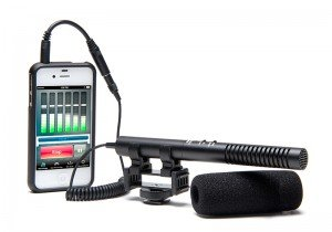 Azden SGM-990+i Shotgun Microphone for Mobile Device Recording