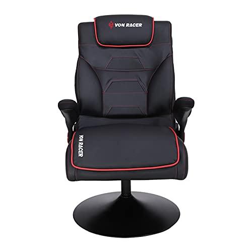 BBZ Rennstuhl, ergonomisches Schwenkbüro, Heben Liegende Computer-Gamer-Stuhl, Mode-Home-Falten-Recliner-Stühle