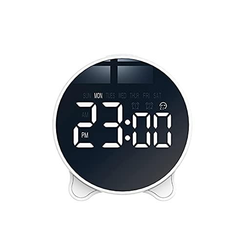Irishom Temporizador de Reloj Digital Silencioso,con Pantalla Grande LED,Ajuste de Rotación Time/Volume Ajustable,para Que Lo Utilicen Personas Mayores y Niños