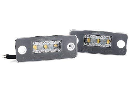 LED Kennzeichenbeleuchtung Canbus Module mit E-Zulassung V-030819