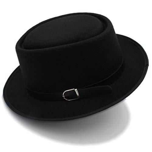 Sombrero Fedora de Pork Pie para Mujer Sombrero Plano de...