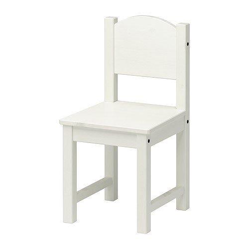 IKEA SUNDVIK Kinderstuhl weiß Stuhl Kindersitzmöbel Kinder
