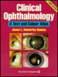 Paperback Clinical Ophthalmology: A Text and Colour Atlas Book