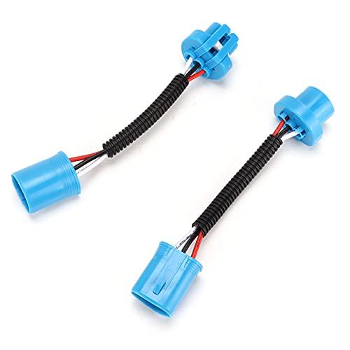 Enchufe del arnés de cables de extensión, enchufe del arnés de cableado de los faros Material ABS superior de alta eficiencia con enchufe de cerámica para fines de extensión/reemplazo