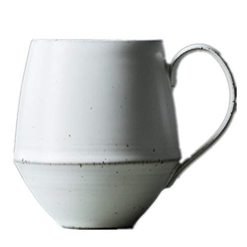 HRDZ Taza de café Taza de gres Hecha a Mano Oficina Taza de Personalidad del hogar Taza de Agua Retro