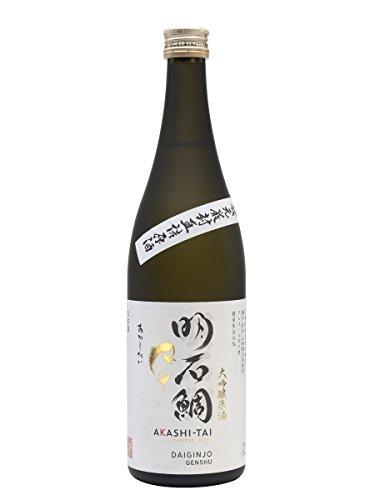Akashi Sake Sake Daiginjo Genshu Yamadanishiki - 300 ml