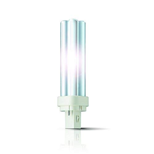 Philips 10x Master PL-C G24d Energiesparlampe 2-PIN - Auswahl (G24d2) 18W/830 - warmton-Weiss