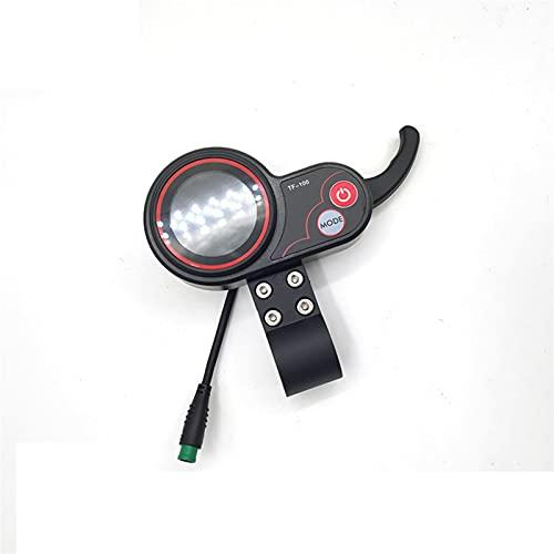 Sankuai 1 UNID TF-100 Scooter eléctrico Instrumento LCD Bicicleta Controlador Acelerador Interruptor...