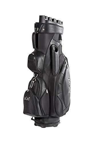 JuCad Bag Manager I Golfbag I Trolly I Golftasche I Schirmfach I Tragegriff I Farbe Schwarz
