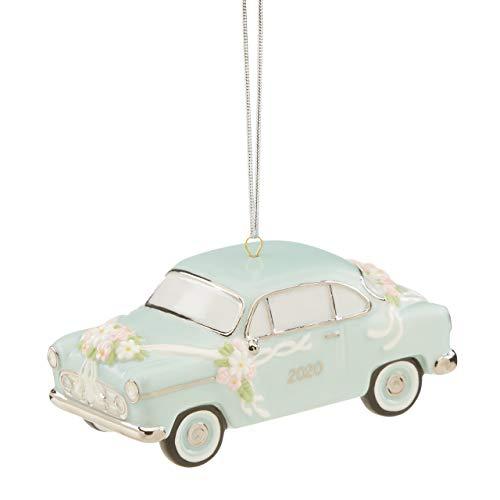 Lenox 2020 Just Married Vintage Car Ornament, 0.45 LB, Multi