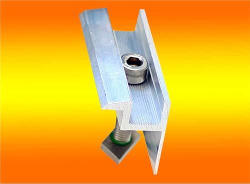 4 Modul Endklemmen 35mm von bau-tech Solarenergie