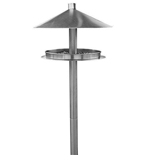 Habau 1772 Futterstation aus Edelstahl mit Ständer, metallisch
