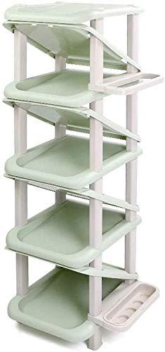 Schoenorganisator/Storage Rack Creatieve Multi-layer Woonkamer Eenvoudige Schoenenkast Schoenenrek Roterend