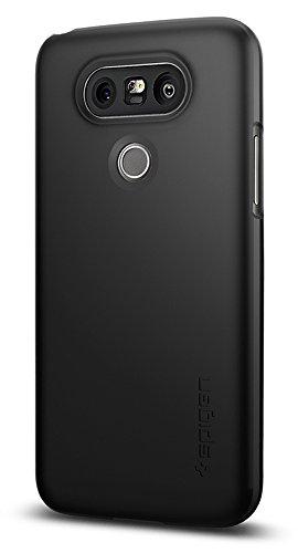 Spigen LG G5 Hülle, [Thin Fit] Passgenaues [Schwarz] Premium HartPC Schale/Schlanke Handyhülle/Schutzhülle für LG G5 Case, LG G5 Cover Black (A18CS20126)