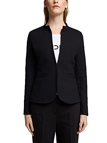 Esprit 990EE1G311 Blazer, 001/Black, L para Mujer