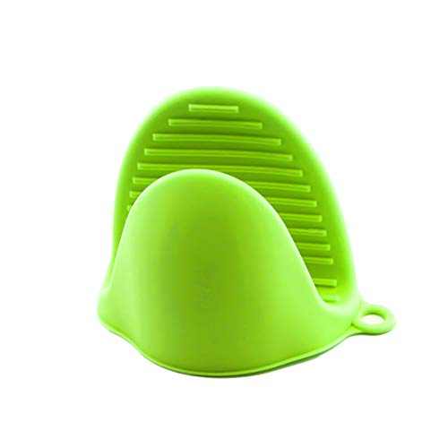 Winnfy Mini Guantes para Horno de Silicona Guantes Antideslizantes Resistentes Al Calor Guantes de Cocina para Cocinar