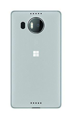 Phonix ML95XGPW Gel Protection Plus Custodia e Pellicola Proteggi Schermo per Microsoft Lumia 950 XL, Bianco