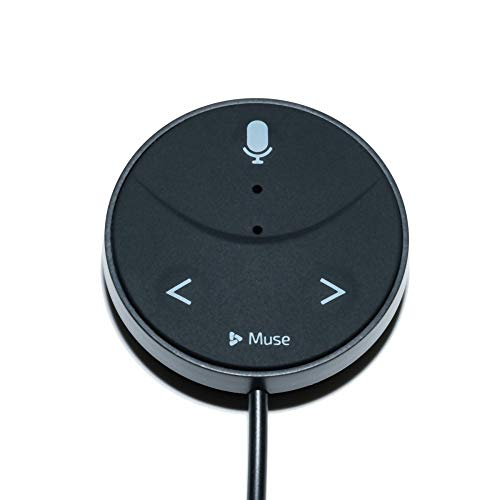 Muse Auto (2nd Gen): Alexa-Enabled Voice Assistant for Cars with Hands-Free Music, Audiobooks, Navigation and 2-Port USB Car Charger