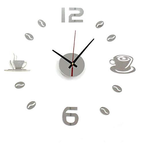 aifengxiandonglingbaihuo Nieuwe Hot Klok Horloge Muur Klokken 3d Diy Acryl Spiegel Stickers Home Decoratie Woonkamer Quartz Naald