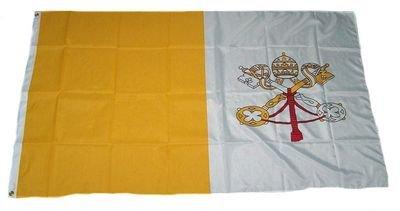 Fahne / Flagge Vatikan NEU 60 x 90 cm Flaggen Fahnen [Misc.]