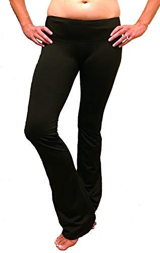 Srirachas Sexy Crotchless Yoga Pants (X-Large, Black)