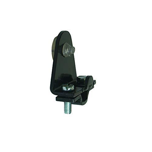 Butée d'arrêt de volet amovible - Hauteur 39 mm - Noir