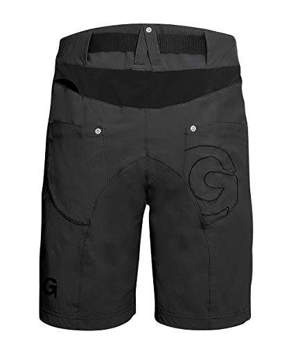 Gonso Damen Mira Da- Da.-Bike-Shorts, Black, 34 - 2