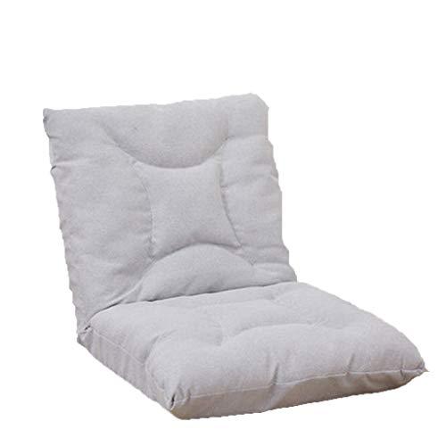 Klappstühle Sessel, Stühle Strandkörbe Lazy Couch Single Tatami Schlafzimmer Liege Bett Kissen Stuhl Klappsofa Stuhl Abnehmbar und faltbar Multi-Speed-Einstellung